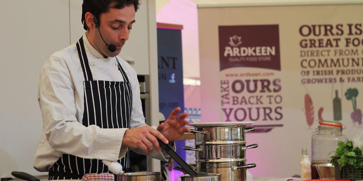 Duncan Blair Cooking
